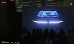 فیلم/ رونمایی از اولین خودرو برقی کمپانی اپل