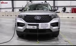 فیلم/ تست تصادف شاسی بلند 5 ستاره فورد (Ford)