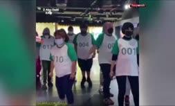 فیلم/ انجام بازیهای سریال بازی مرکب به صورت واقعی در امارات