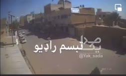 تصاویر ویدیویی دوربینهای مدار بسته از لحظات حمله انتحاری بر مسجد جامع فاطمیه در قندهار افغانستان