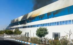 تصاویر آتشسوزی گسترده در کارخانه طبیعت,عکس های آتش سوزی در کارخانه طبیعت,تصاویر کارخانه طبیعت