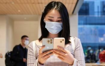 تصاویر استقبال چینیها از پیش فروش آیفون 13,عکس های پیش فروش آیفون در چین,تصاویر فروش آیفون 13 در چین
