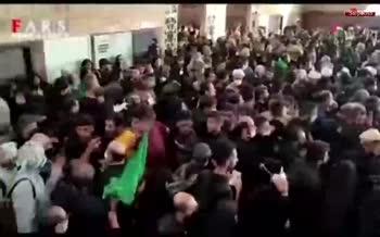 فیلم/ مجروح شدن 40 زائر به دلیل ازدحام در مرز شلمچه؛ یک نفر کشته شد