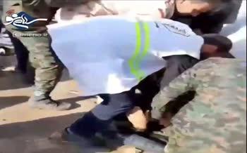 ویدیویی دلخراش از کشته و زخمی شدن چندین نفر در شلمچه