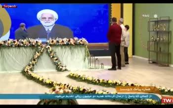 فیلم/ گاف عجیب بیوک میرزایی روی آنتن زنده درباره اژهای و لاریجانی!