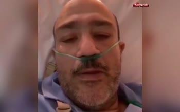 اولین پیام ویدویی مهران غفوریان بعد از عمل قلب