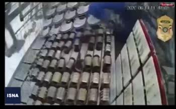 فیلم/ دستگیری باند سرقتهای مسلحانه در تهران