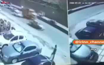 فیلم/ تصادف وحشتناک تریلی حامل خودرو با چند سواری در جاجرود
