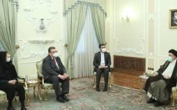 آیت الله سید ابراهیم رئیسی رئیس جمهور,م دریافت استوارنامه «کاری کاهیلوتو» سفیر جدید فنلاند
