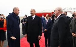 الهام علی اف رئیسجمهور جمهوری آذربایجان و رجب طیب اردوغان,دیدار روسای جمهور
