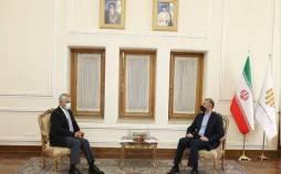 آغاز مذاکرات جدید, خسرو ناظری دبیرکل جدید سازمان همکاری اقتصادی(اکو) با حسین امیر عبداللهیان