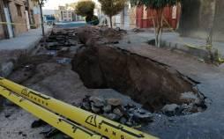 فرونشست زمین در اصفهان,اثر نشست زمین بر خطوط لوله گاز
