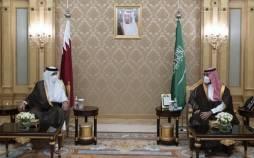 ولیعهد عربستان و امیر قطر,محمد بن سلمان و شیخ تمیم بن حمد آل ثانی