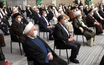 تصاویر دیدار جمعی از مسئولان نظام و مهمانان شرکت کننده در کنفرانس وحدت اسلامی,عکس های مسئولان در دیدار رهبر انقلاب,تصاویری از مسئولان نظام در دیدار آیت الله خامنه ای