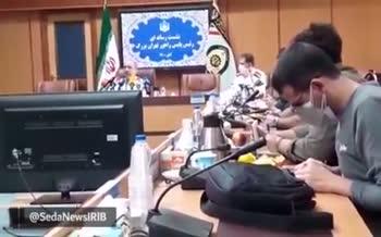 فیلم | آب پاکی رئیس پلیس راهور تهران: نه معضل ترافیک تهران حل می شود نه آلودگی