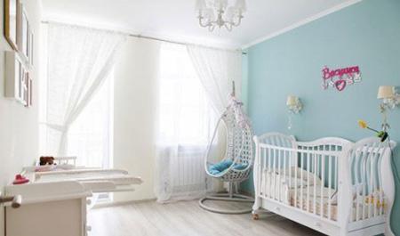 رنگ اتاق نوزاد,دکوراسیون اتاق نوزاد