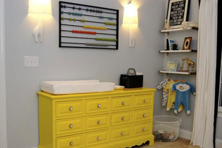 انتخاب رنگ اتاق نوزاد,غالب فضای اتاق کودک