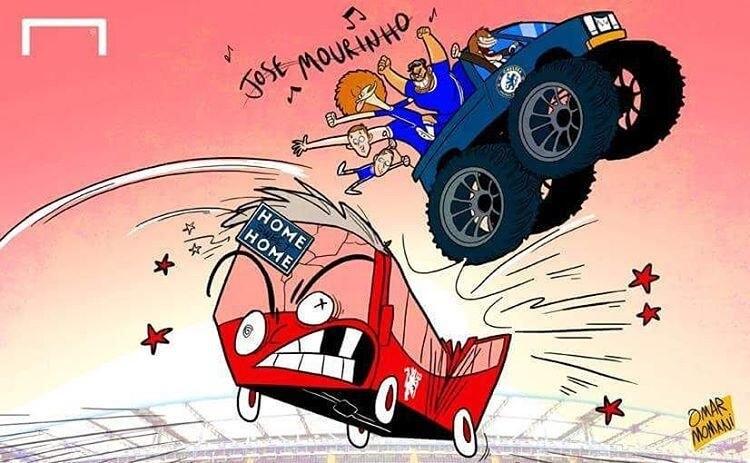 کاریکاتور,عکس کاریکاتور,کاریکاتور ورزشی,تصاویر کاریکاتور مورینیو,عکس های کاریکاتور مورینیو, کاریکاتور مورینیو