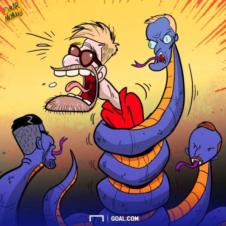 کاریکاتور,عکس کاریکاتور,کاریکاتور ورزشی,کاریکاتور یورگن کلوپ