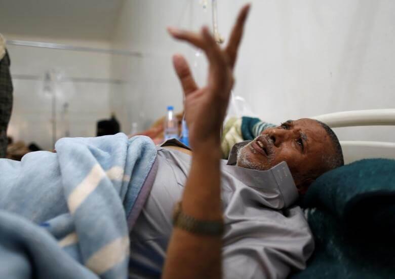 عکس های شیوع وبا در یمن,تصاویر شیوع وبا در یمن,عکس های شیوع وبا در کشور بحران زده یمن