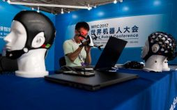 عکس کنفرانس جهانی ربات ها در چین,تصاویر کنفرانس جهانی ربات ها در چین,عکس ربات ها در چین