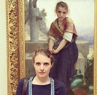 عکس های شباهت افراد به نقاشی های موزه,تصاویر شباهت افراد به نقاشی های موزه,عکس های نقاشی های موزه