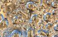تصاویر بناهای پاریس در قطرات آب,عکس های اماکن دیدنی شهر پاریس,عکسهای قطرات آب و شهر پاریس