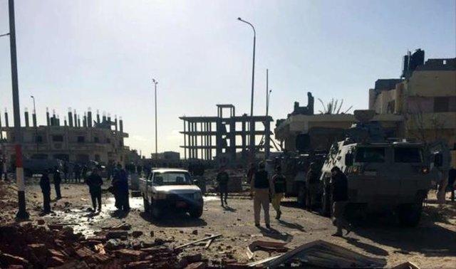انفجار در سینای شمالی,اخبار سیاسی,خبرهای سیاسی,خاورمیانه