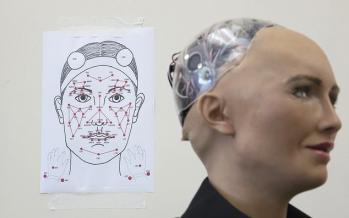 تصاویر ربات سوفیا,عکسهای ربات های انسان نما,عکس های نسل جدید ربات ها