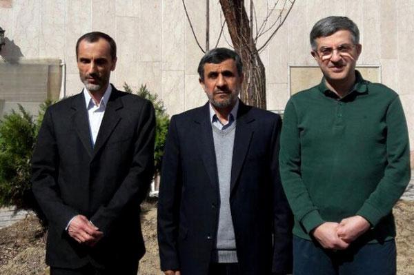 مشایی و احمدی نژاد وبقایی,اخبار سیاسی,خبرهای سیاسی,اخبار سیاسی ایران