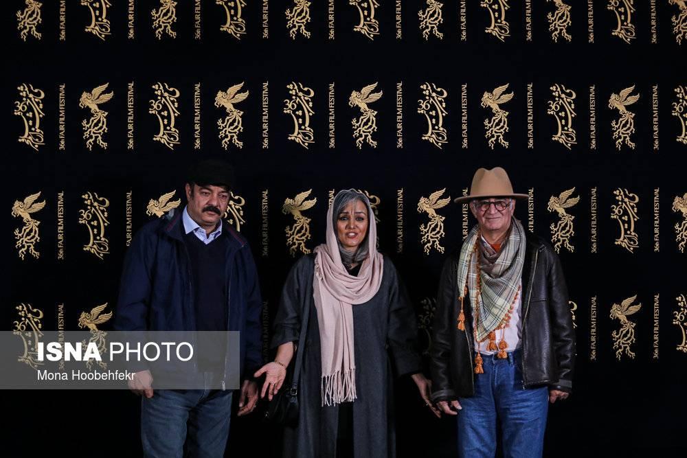 تصاویر اولین روز جشنواره فیلم فجر,عکس های اولین روز جشنواره فیلم فجر,تصاویری از اولین روز سی و ششمین جشنواره فیلم فجر