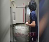 ویدئو/ نگاهی به خروج اضطراری مسافران هواپیما در شرایط حساس