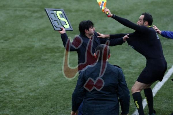 ضرب و شتم داور معروف لیگ برتری در گیلان,اخبار فوتبال,خبرهای فوتبال,حواشی فوتبال