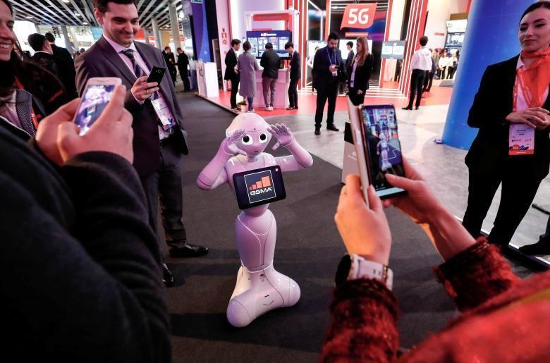 تصاویر کنگره جهانی موبایل 2018,عکسهای نمایشگاه موبایل در بارسلون,عکس های کنگره جهانی موبایل بارسلون