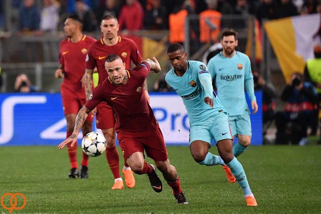 تصاویر بازی تیم آ اس رمو بارسلونا,عکس های دیدار تیم های آ اس رمو بارسلونا,تصاویر تیم فوتبال بارسلونا