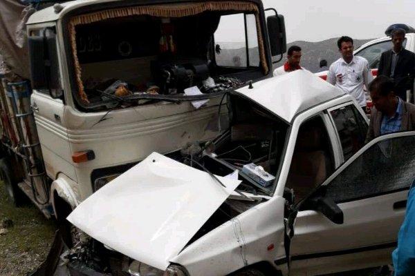 تصادف رانندگی امشب در ایلام,اخبار حوادث,خبرهای حوادث,حوادث