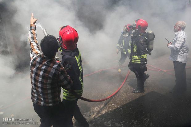 آتش سوزی پتروشیمی آبادان,کار و کارگر,اخبار کار و کارگر,حوادث کار