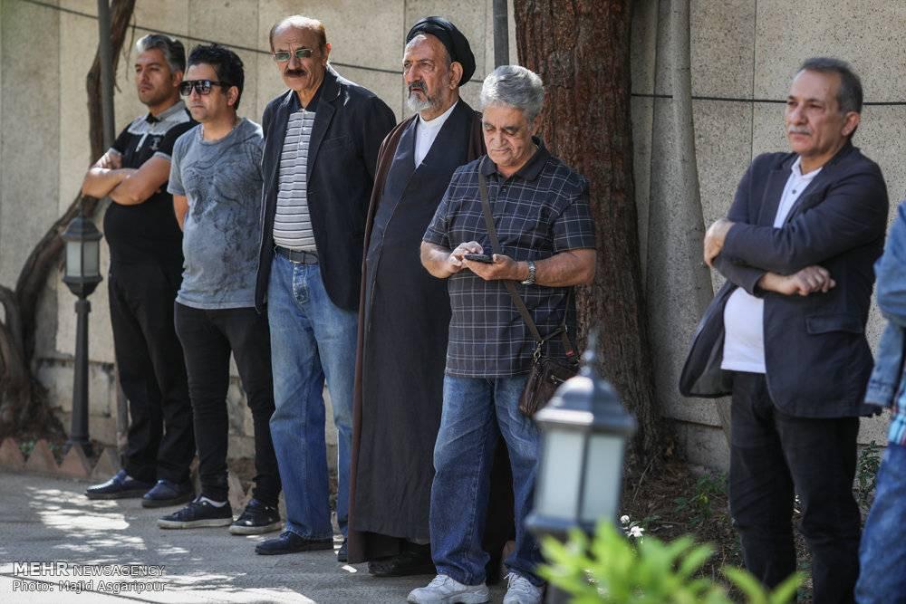 عکس مراسم تشییع حسین شهاب,تصاویرمراسم تشییع حسین شهاب,عکس تشییع پیکر حسین شهاب
