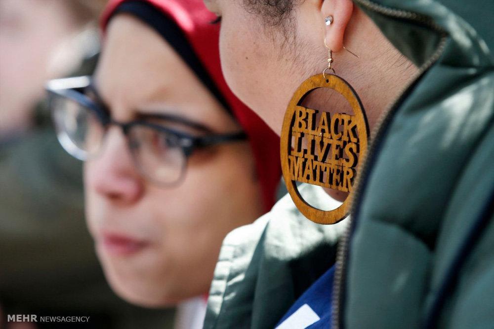 تصاویر تظاهرات دانش آموزان آمریکایی,عکس های تظاهرات در آمریکا,تصاویر تظاهرات ضد حمل سلاح گرم در آمریکا