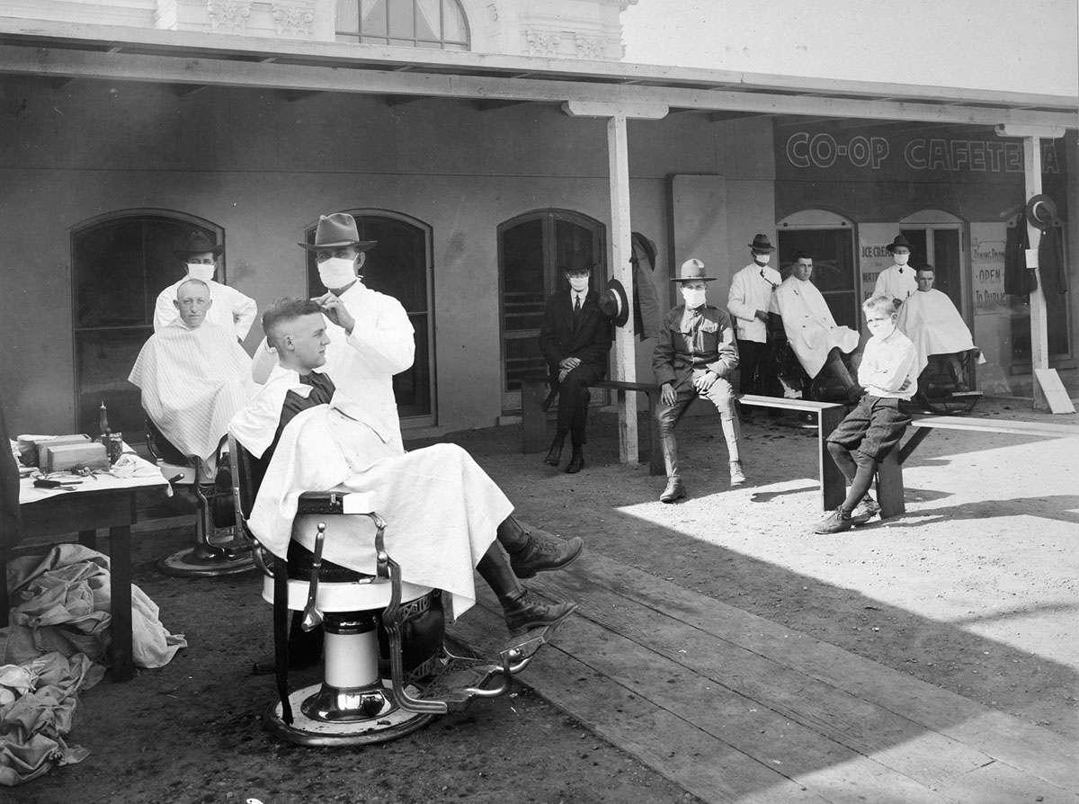 تصاویر100 سال پیش,مرگ در اثر آنفلوانزا, 50 میلیون کشته