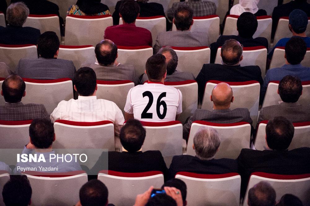 تصاویر مراسم بدرقه تیم ملی,تصاویر مراسم بدرقه تیم ملی در تالار وحدت,عکس های مراسم برای تیم ملی در تالار وحدت