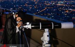 عکس استهلال ماه شوال ازبرج میلاد,تصاویراستهلال ماه شوال ازبرج میلاد,عکس دیدن ماه شوال