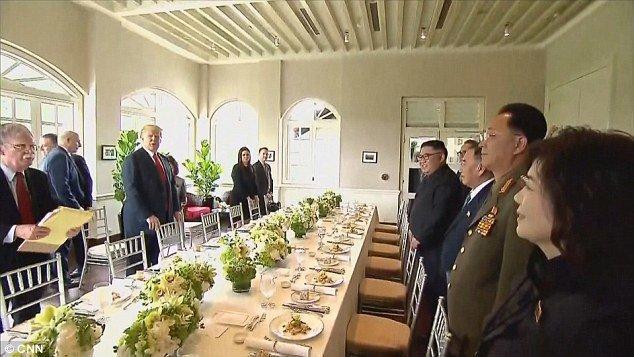 ناهار ترامپ و اون,اخبار سیاسی,خبرهای سیاسی,سیاست