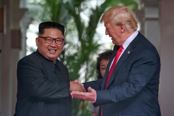 ترامپ وکیم جونگ اون,اخبار سیاسی,خبرهای سیاسی,اخبار بین الملل