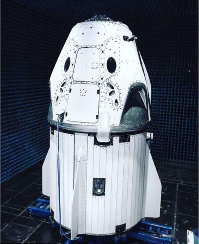 کپسول فضایی,اخبار علمی,خبرهای علمی,نجوم و فضا