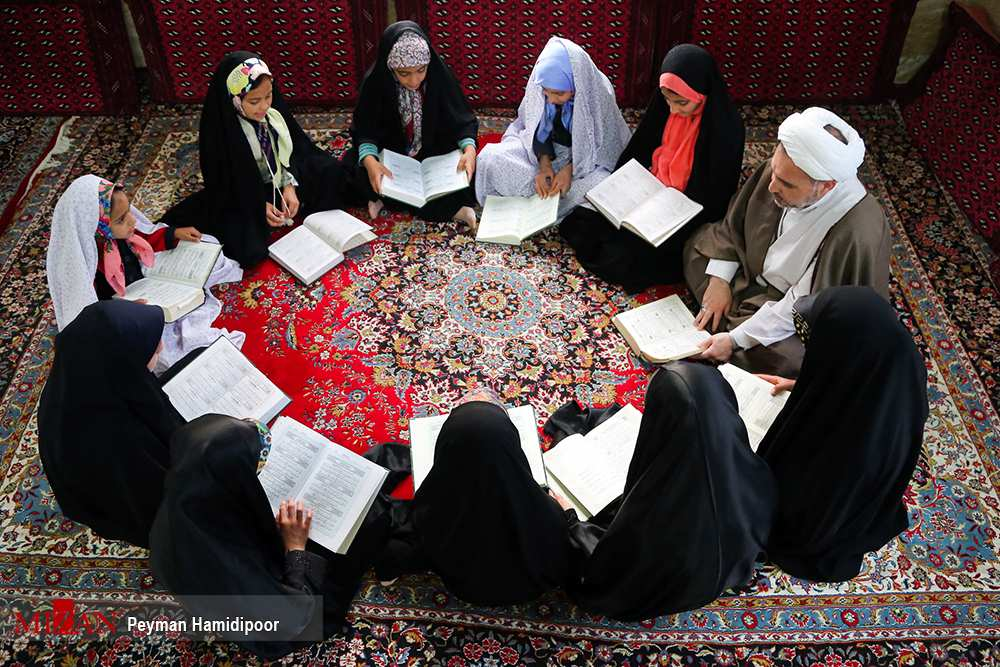 عکس مبلغ دینی,تصاویر مبلغ دینی,عکس مبلغ دینی در روستای باباامان بجنورد