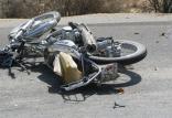 تصادف موتورسیکلت,اخبار حوادث,خبرهای حوادث,حوادث