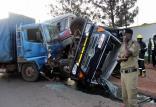 تصادف اتوبوس با تراکتور در اوگاندا,اخبار حوادث,خبرهای حوادث,حوادث