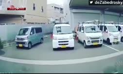 ویدئو/ لحظه وقوع زلزله 6.1 ریشتری در ژاپن