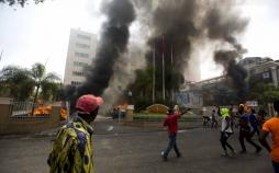 تصاویر اعتراضات مردم هائیتی